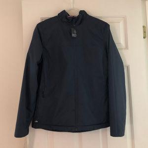 Fleece-lined reversible jacket